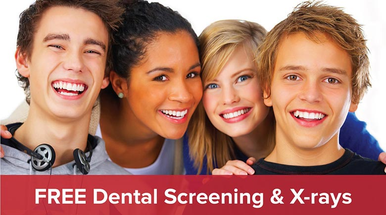Free Dental Screening and X-Rays