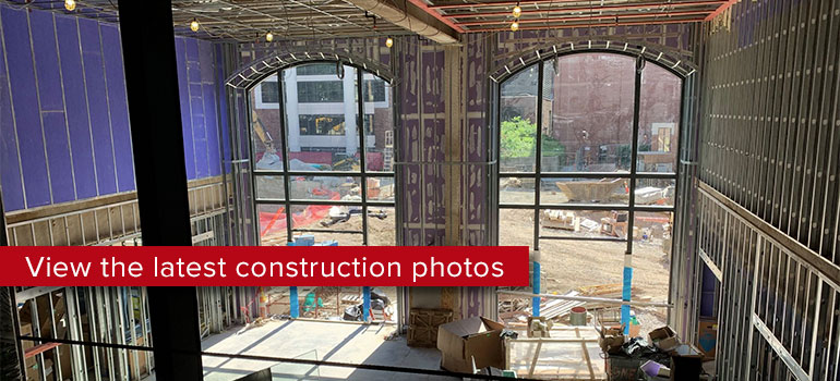 View the latest construction photos on Facebook