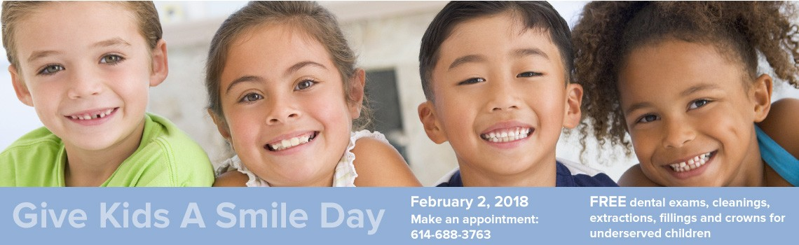 Give Kids A Smile Day, Feb. 2, 2018